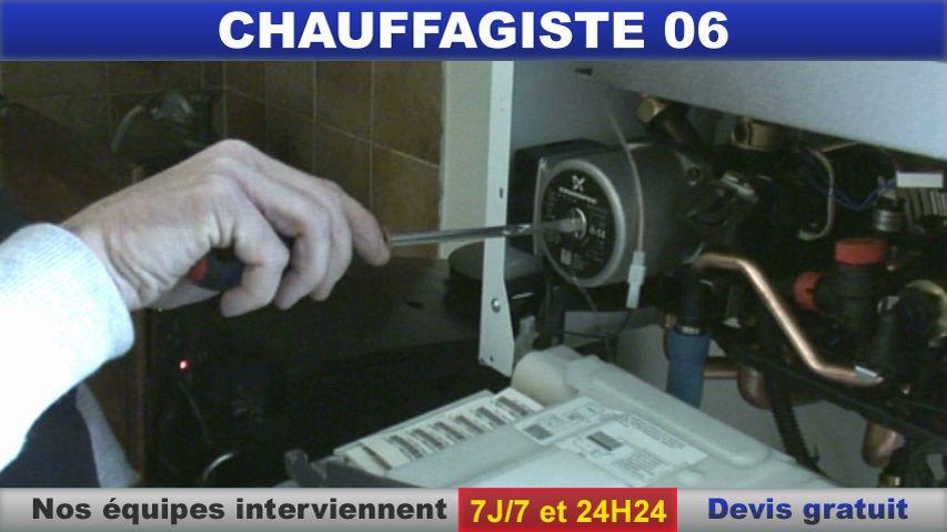 chauffagiste 06