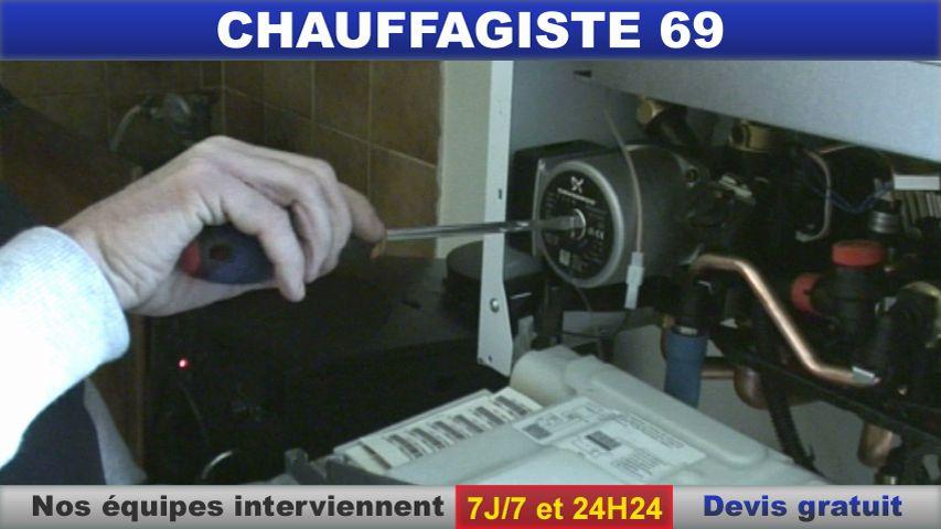 chauffagiste 69