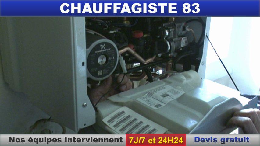 chauffagiste 83