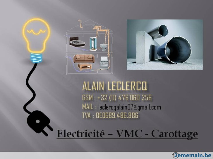 electricien 2ememain