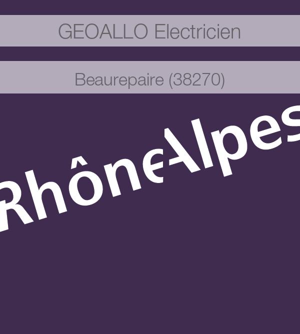 electricien 38270