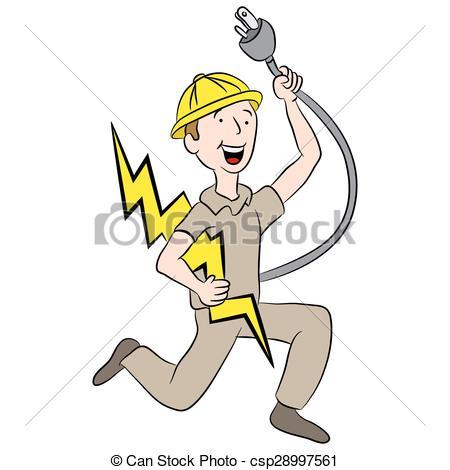 electricien dessin
