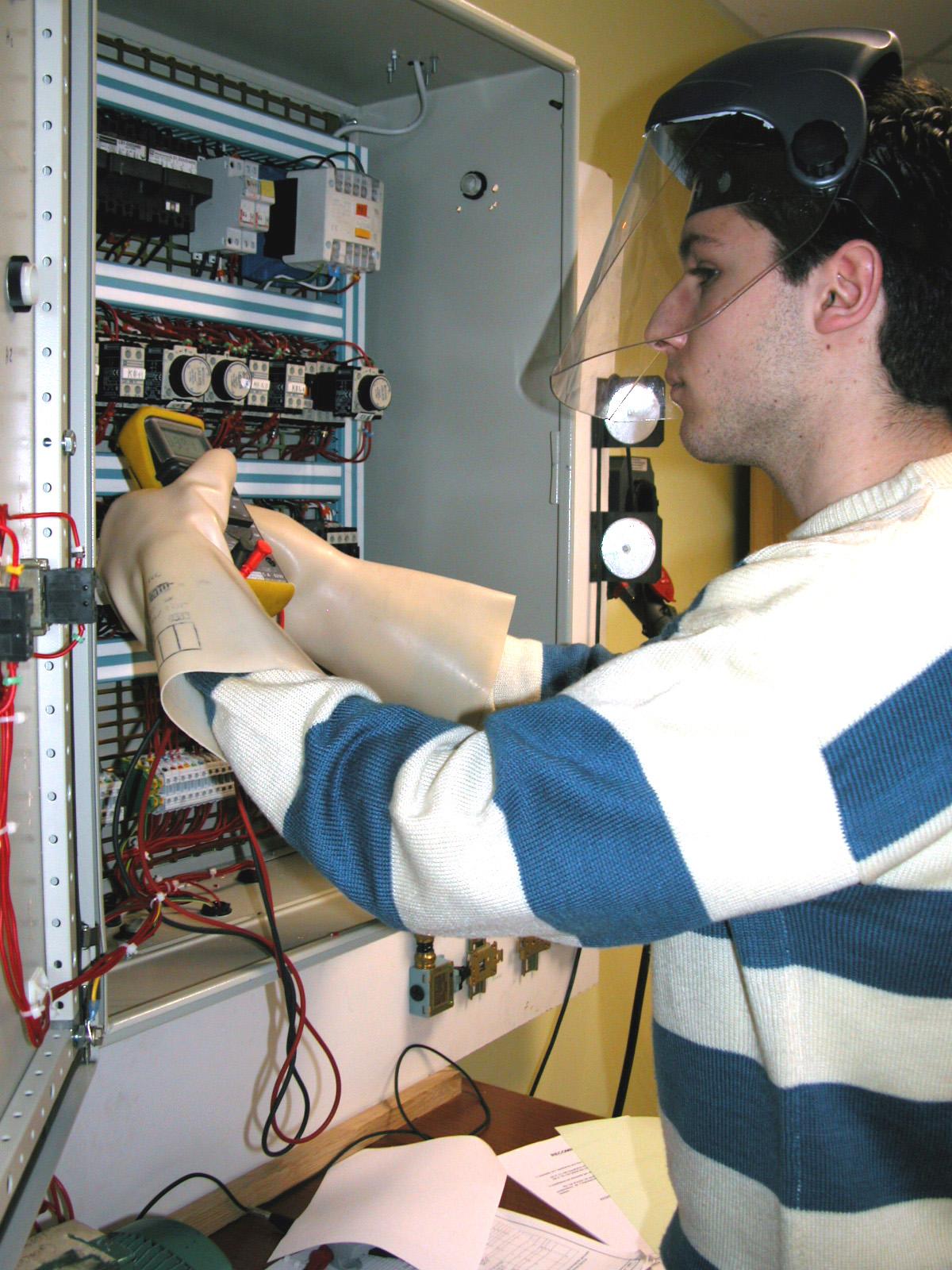electricien du batiment