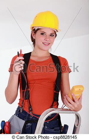 electricien femme