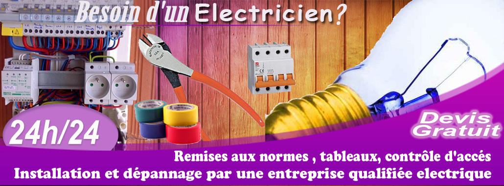 electricien juvisy