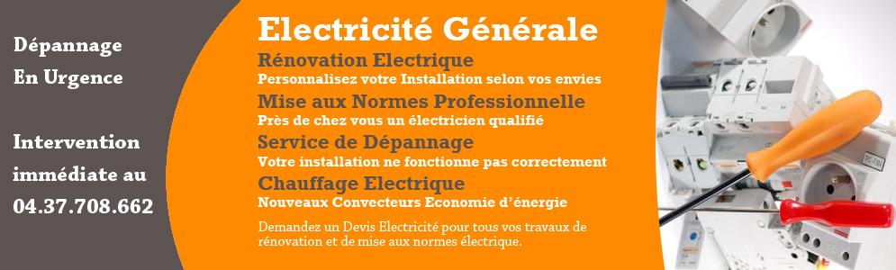 electricien orange