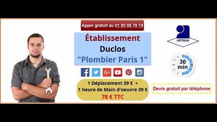 plombier 09