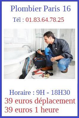 plombier 16
