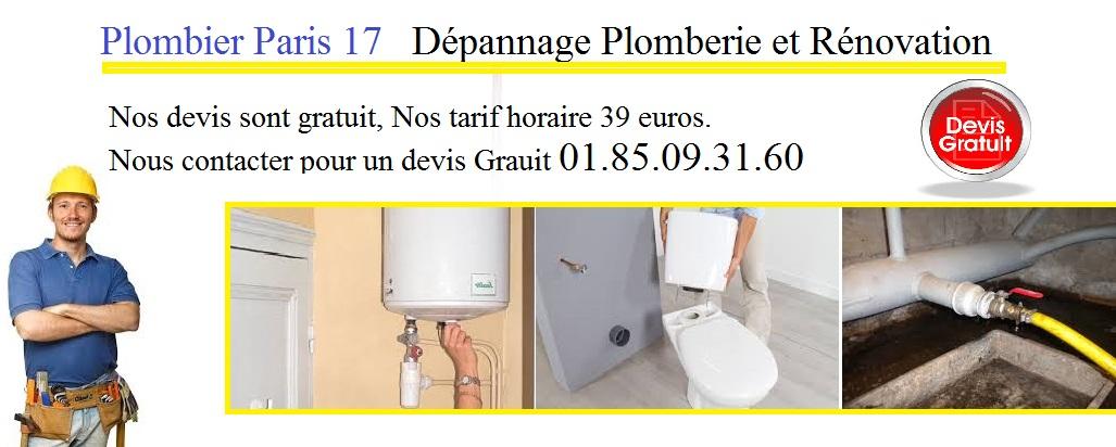 plombier 17