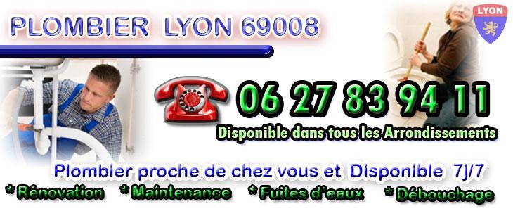 plombier 69008