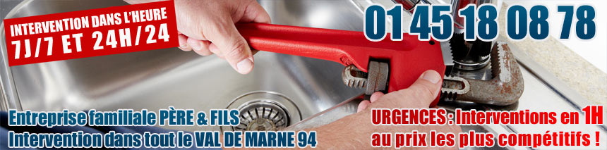 plombier a bry sur marne
