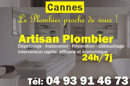plombier a cannes