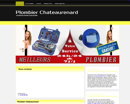 plombier chateaurenard