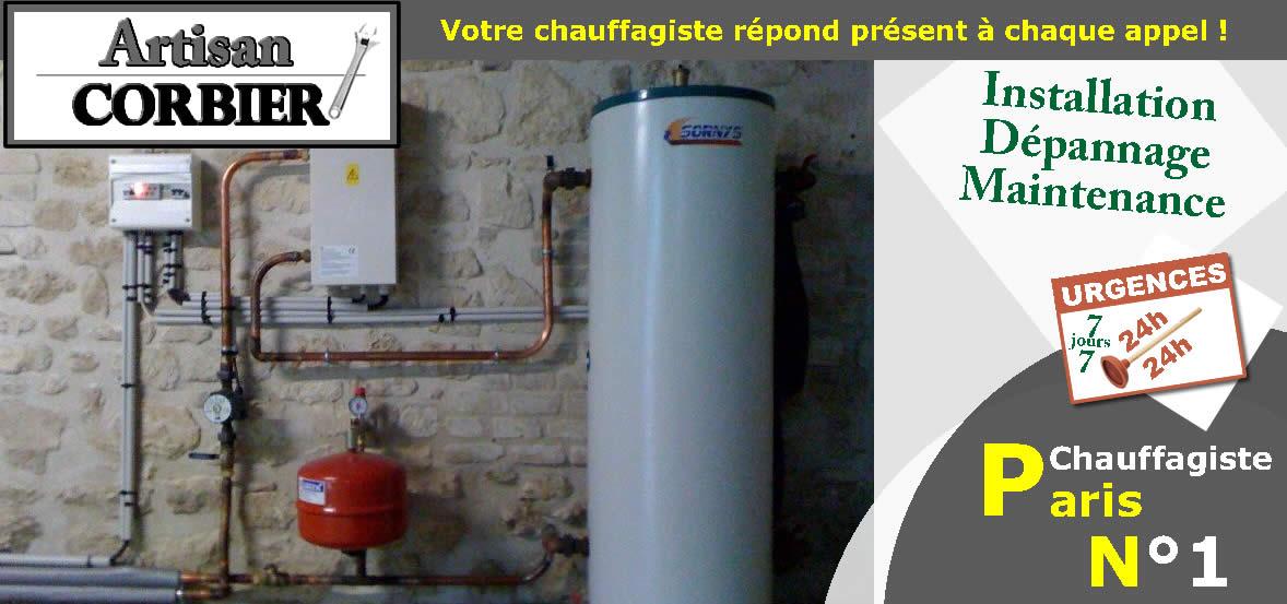 chauffagiste 75014