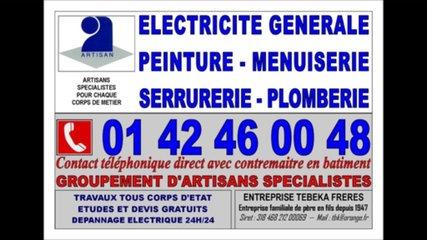electricien 15eme paris