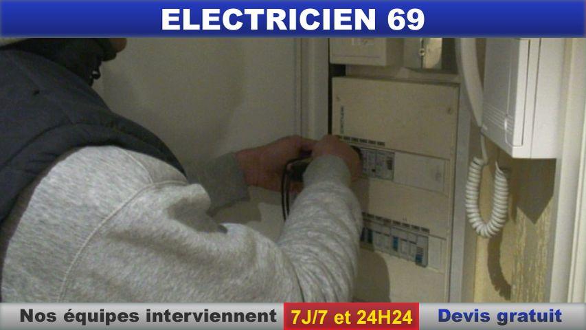 electricien 69009