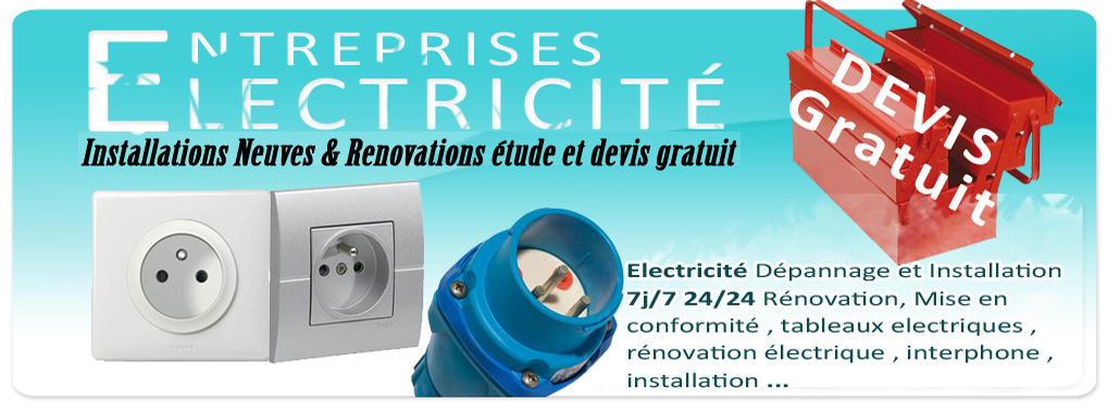 electricien 91700