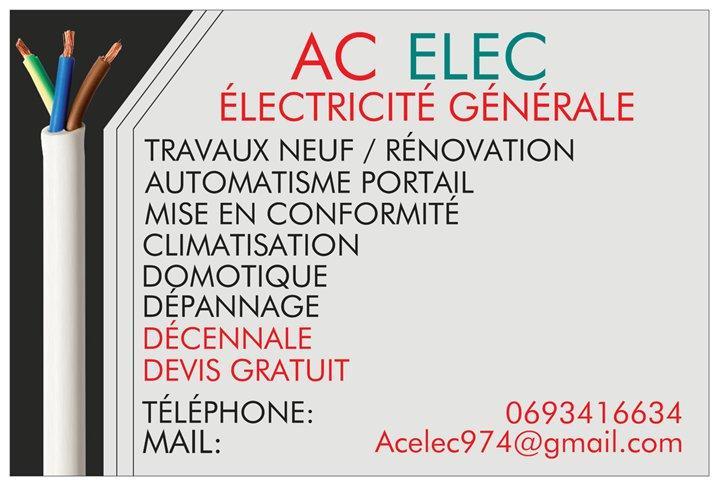 electricien 97410