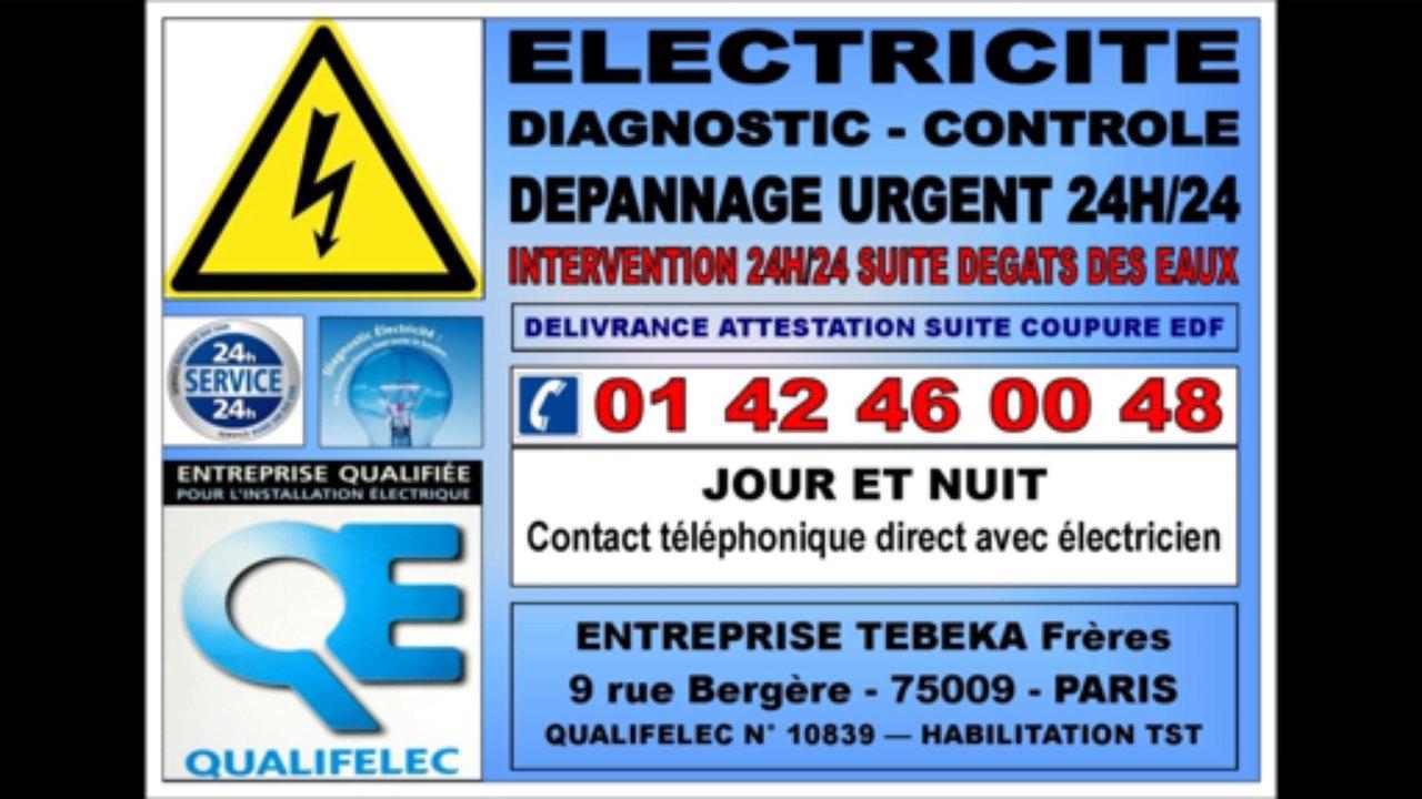 electricien 9eme