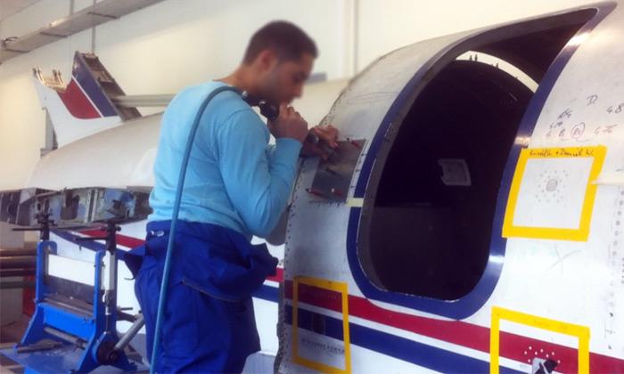 electricien d'avion
