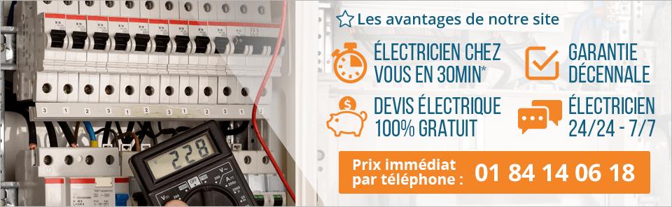 electricien d'urgence