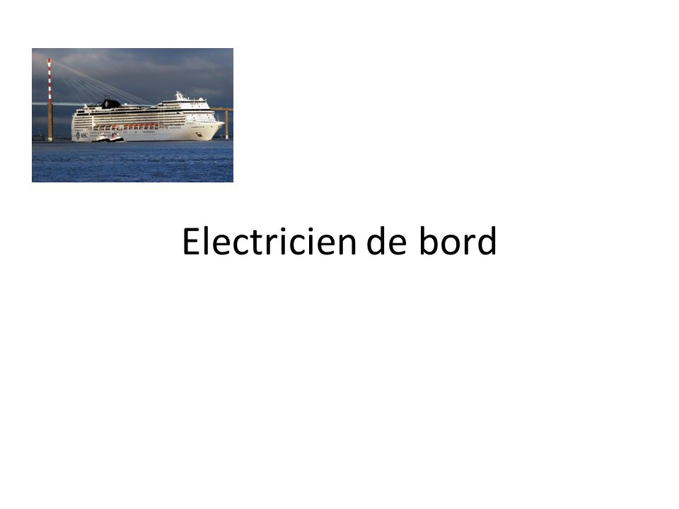electricien de bord