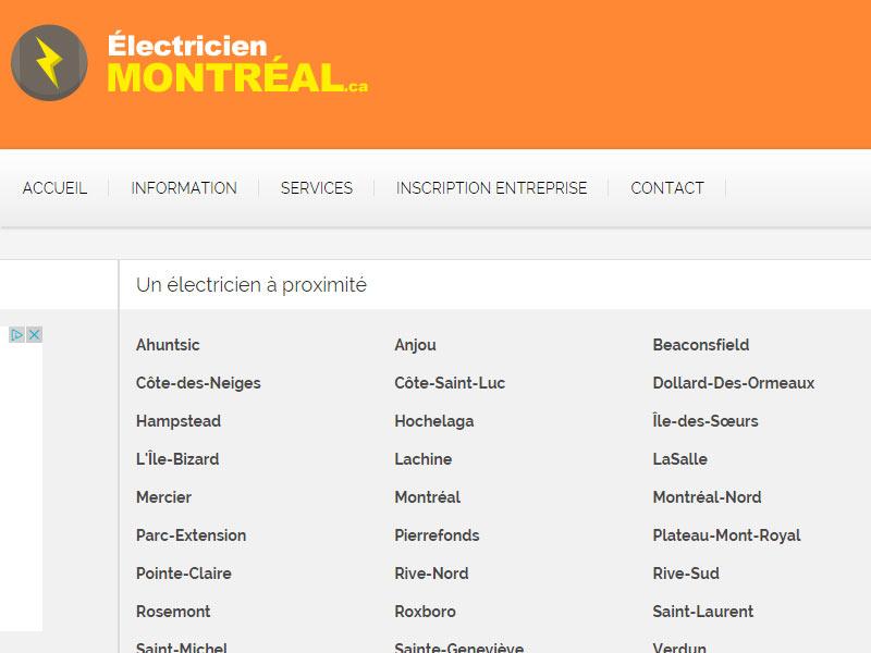 electricien information