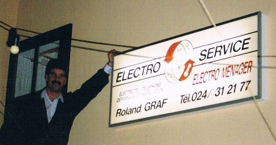 electricien yvonand