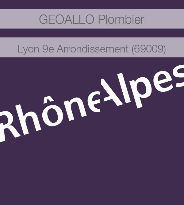 plombier 69009