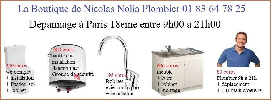 plombier 80