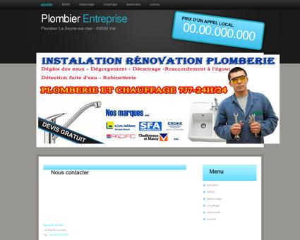 plombier 83500