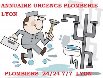 plombier d'urgence lyon
