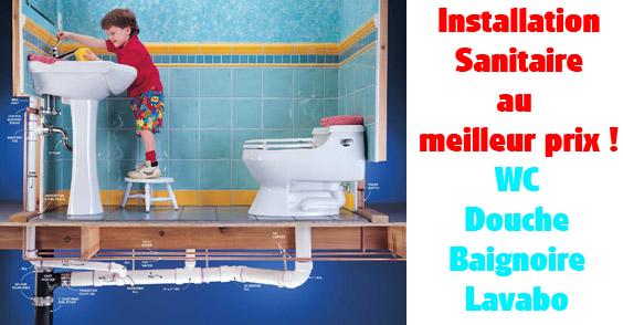 plombier installation sanitaire
