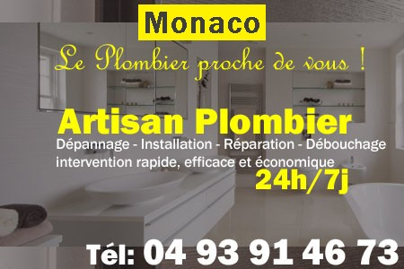 plombier monaco
